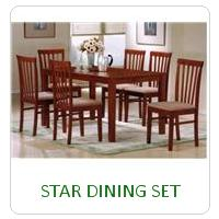 STAR DINING SET